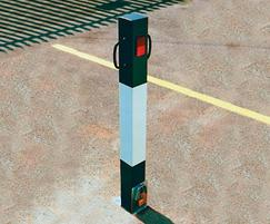 Heavyweight removable bollards - large with handles