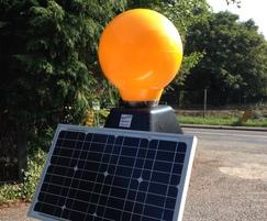 Street Furnishings: Upgrade for solar-powered Belisha beacon