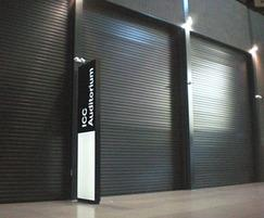Sonaroll acoustic roller shutters