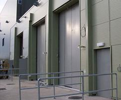 Superfold high security insulated folding doors