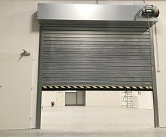 Acoustic rated and fire resisting roller shutter