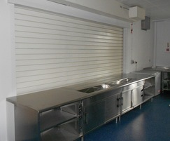 Fireroll acoustic fire rated roller shutters