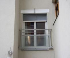 Fibreroll S Smoketight fire curtain
