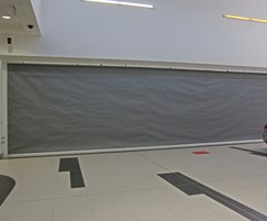 Fibreroll EW120 rolling fire curtain