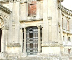 Collapsible steel gates for historic Witley Court