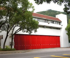 Industrial shutters for fire station