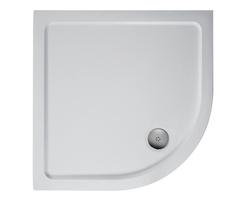 Simplicity low profile shower trays - quadrant