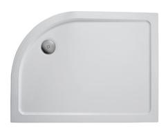 Simplicity low profile shower trays - offset quadrant