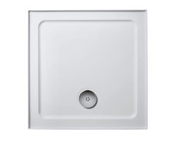 Simplicity low profile shower trays - square