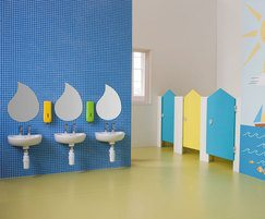Splash range of children's washrooms for schools