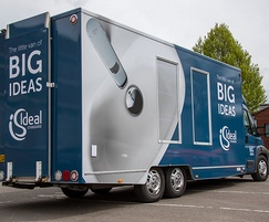 Ideal-Standard: Ideal Standard's mobile showroom for housebuilders