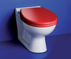 AS Contour21 S304601 school 305 back-to-wall WC pan