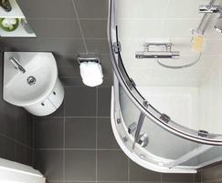 Simplicity quadrant flat top shower tray