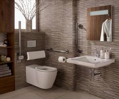 Concept Freedom accessible bathroom range