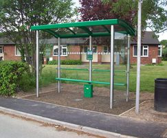 Stainless steel G2 shelter