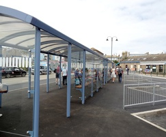Entrances to match bus alighting and boarding points