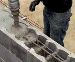 Stepoc concrete shuttering system