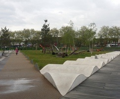 Hard and soft landscaping of Public areas