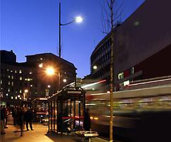 Aeroform street and car park luminaire