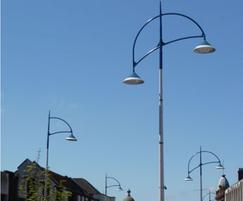 Lanark modern car park, street and amenity luminaire