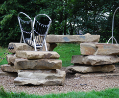 Yorkstone climbing feature at Bradshaw Park