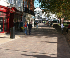 Natural stone paving - Cathedral Close & Yard, Exeter