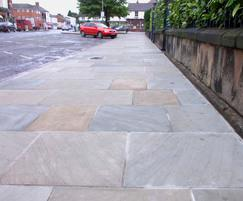 World Sandstone flag paving