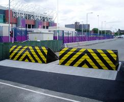 Terra blockers installed for London 2012 Olympics