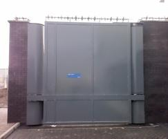 PAS 68 Terra Hinged Gate with sheet infill