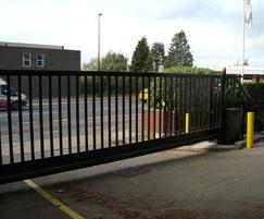 Sliding Cantilevered Gate