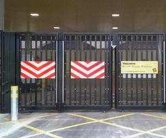 Bi-folding gate Secured by Design