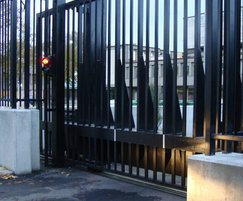 PAS 68 Terra Gate - automatic tracked sliding gate