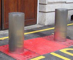 Terra Saturn Bollards for Fire Station