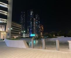 HVM Bollards at The Founder's Memorial, Abu Dhabi