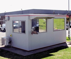 Boxer large plastic coated steel modular building