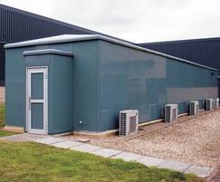 Garrison GRP Modular Housings Large Model in Blue