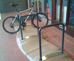 Cyclone Cycle Stand Sandstone Model