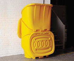 Nestor 400 Grit Salt Bin Stacking and Storage