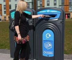 Nexus 360 Recycling Bins
