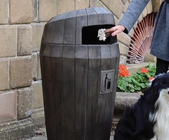 Sherwood litter bin
