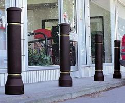 Neopolitan 20 Bollard Outside Shops