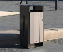 Electra™ litter bin for outdoor use
