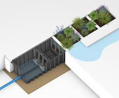 HydroPlanter™ raingarden and stormwater management