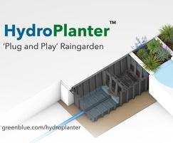 GreenBlue Urban Ltd: GBU launches HydroPlanter™ 'plug and play' raingarden
