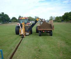 Sports field drainage