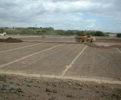 Construction of new sports field
