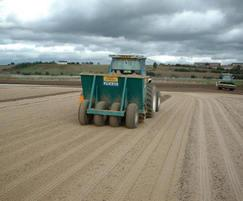 Seeding of new playing field