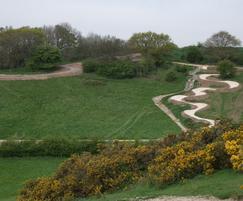 Mountain bike trails, Hadleigh Country Park