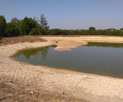 Wetland construction project