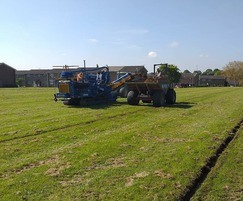 Sportsfield drainage for Braintree District Council